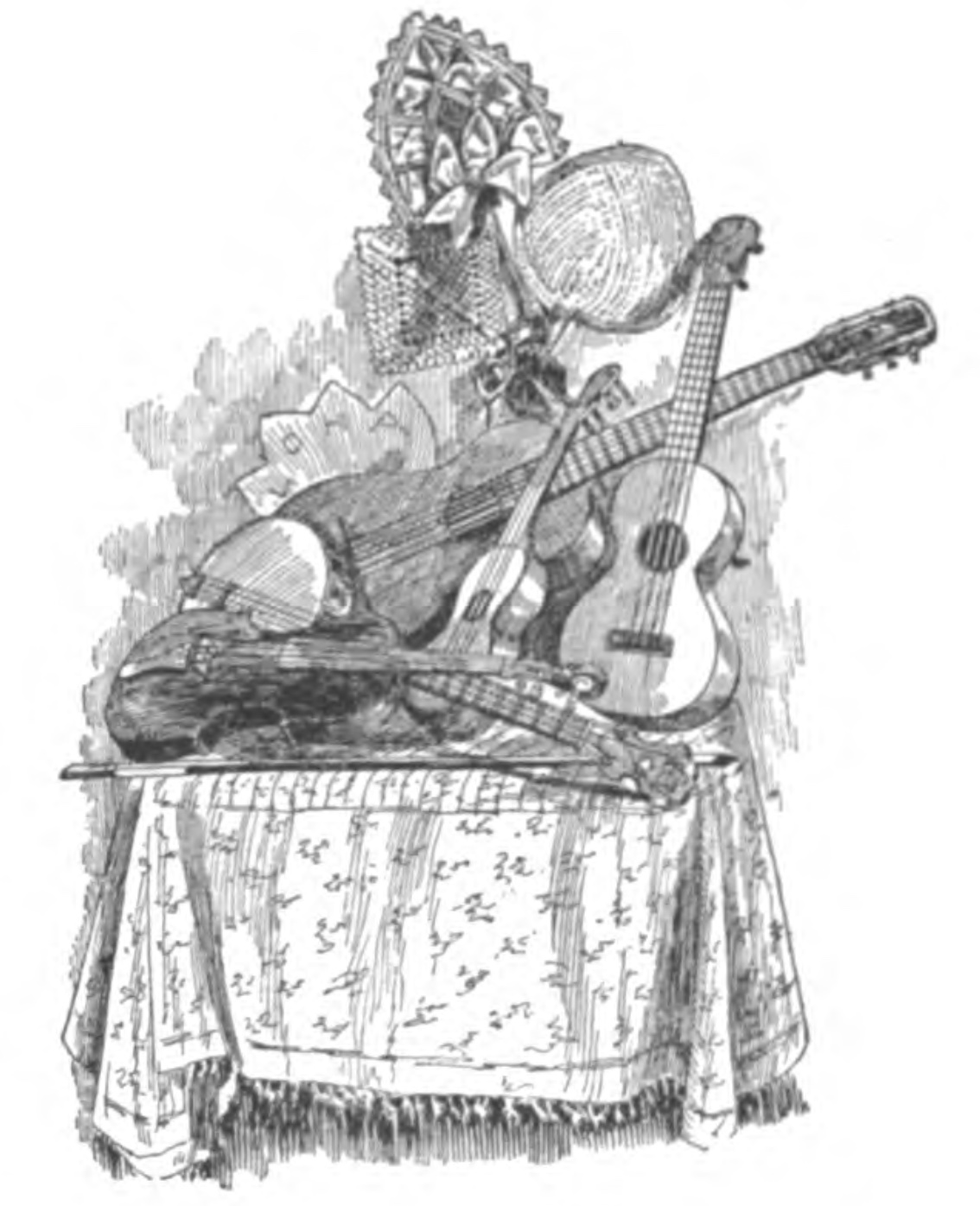 Quellen Zur Geschichte Der Ukulele 1879 1929 The G String Youll Be Finefor Fingering Diagrams Hold Native Musicians Gave Us Selections On Their Stringed Instruments S 27 Abb 28 Abgebildet Sind Eine Geige Ein Banjo Zwei Viersaitige